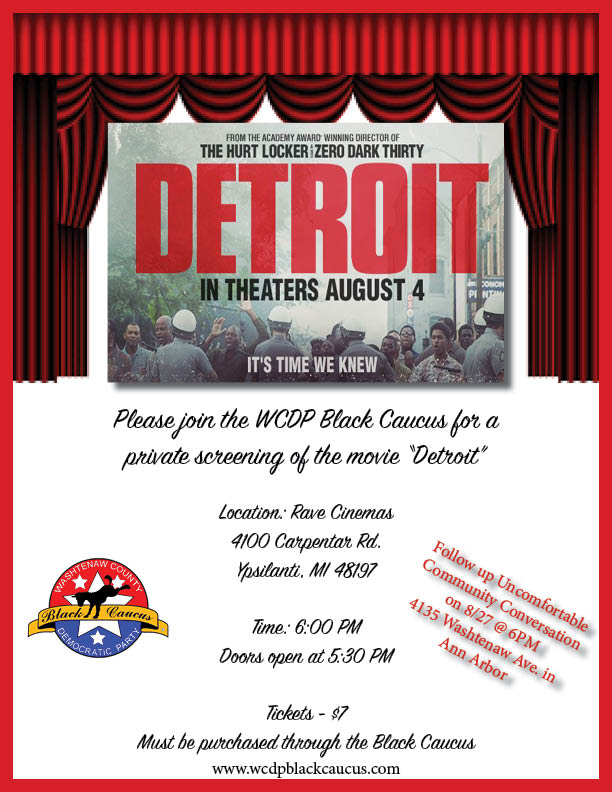 WCDP Black Caucus Movie Event